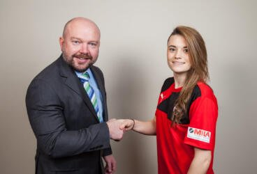 Mila Maintenance delighted to sponsor ladies'  footballer thumbnail image