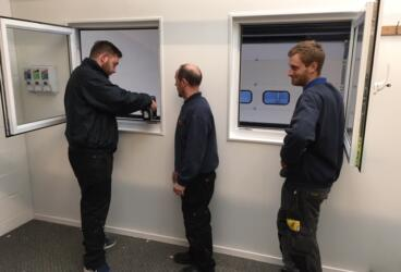 Practical Training underpins our status as a specialist contractor thumbnail image