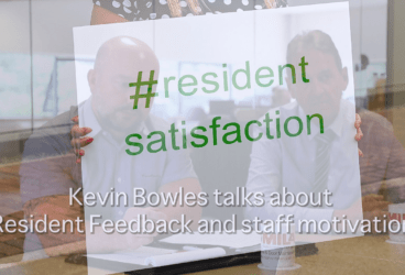 Kevin Bowles talks about Resident Feedback and staff motivation thumbnail image