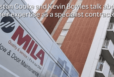 Tristan Cooke and Kevin Bowles talk about their expertise as a specialist contractor thumbnail image