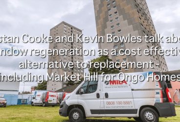 Tristan Cooke and Kevin Bowles talk about window regeneration as a cost effective alternative to replacement – including Market Hill for Ongo Homes thumbnail image