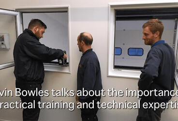 Kevin Bowles talks about the importance of practical training and technical expertise thumbnail image