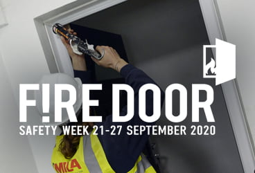 Pledging our support for the Fire Door Safety Week Campaign thumbnail image