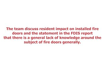 Fire Door Inspection Scheme Discussion 2/5 thumbnail image